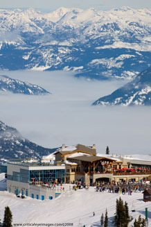 The Roundhouse, Whistler Mountain, Whistler Blackcomb